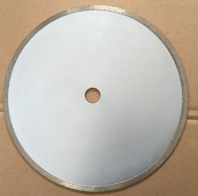 Porcelain 12 / 14  Inch Diamond Wet Saw Blade For Ceramic Tile / Glass